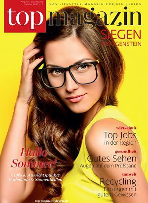 Top Magazin Siegen-Wittgenstein Sommer 2018