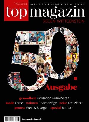 Top Magazin SIegen-Wittgenstein Frühjahr 2019