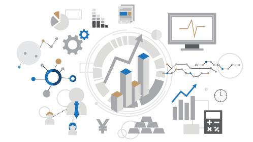 Investieren: Übersicht mit Icons