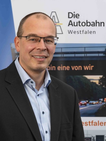 Marco Gräb, Leiter Außenstelle Netphen der Autobahn Westfalen