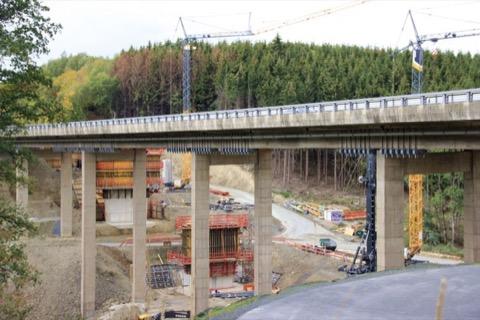 Talbrücke Rälsbach (161 Meter) bei Wilnsdorf-Rinsdorf